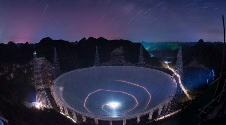 Telescope hunting for alien life