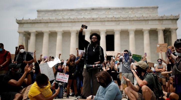 US George Floyd Protest Black Lives Matter