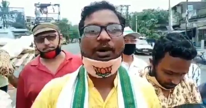 BJP Worker Anti China