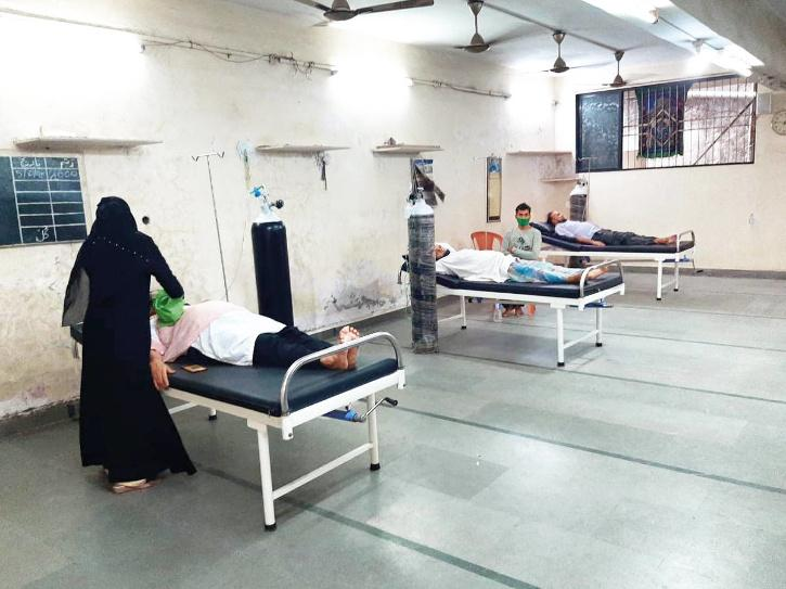 Bhwandi mosque offers bed