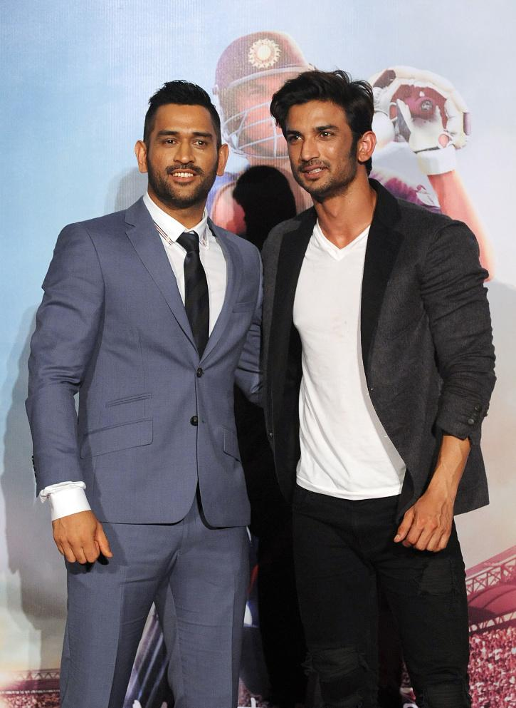Sushant singh and Dhoni