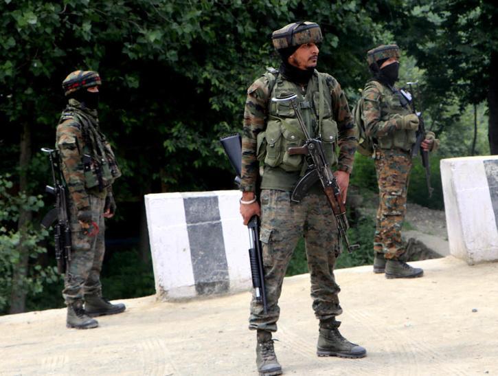 Jammu and Kashmir,  Lashkar encounter