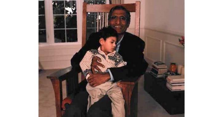 Satya Nadella dad