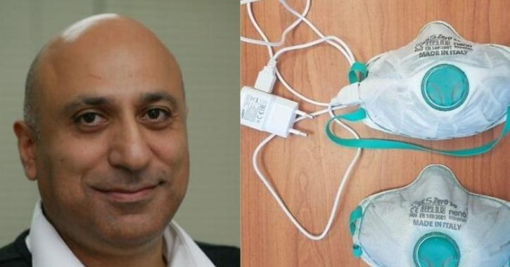 Reusable face mask developed by Israel professor
