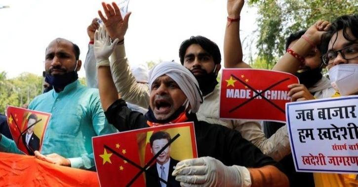 Boycott China protests in India
