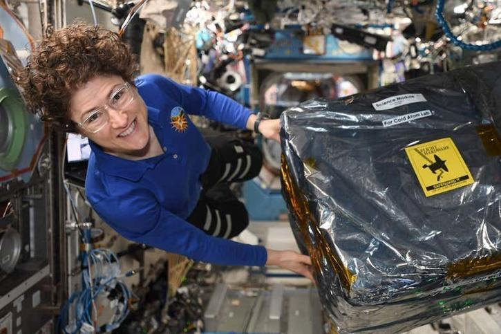 installing the Cold Atom Laboratory on the ISS