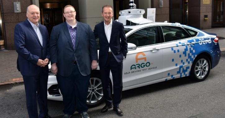 Autonomous tech for Ford, Volkswagen, Argo AI deal