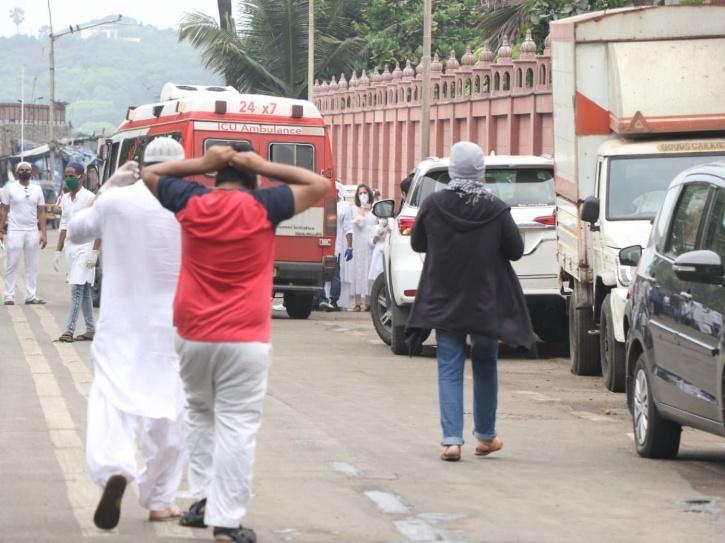 Wajid Khan Funeral