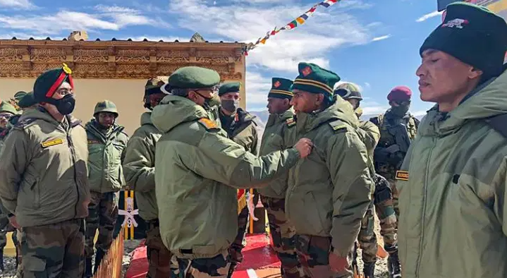The Chinese soldiers used stones, nail-studded sticks, iron rods and clubs in carrying out brutal attacks on Indian soldiers after they protested the erection of a surveillance post by China on the Indian side of the Line of Actual Control in Galwan.