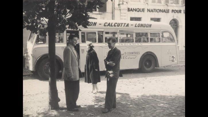 London Calcutta Bus Service