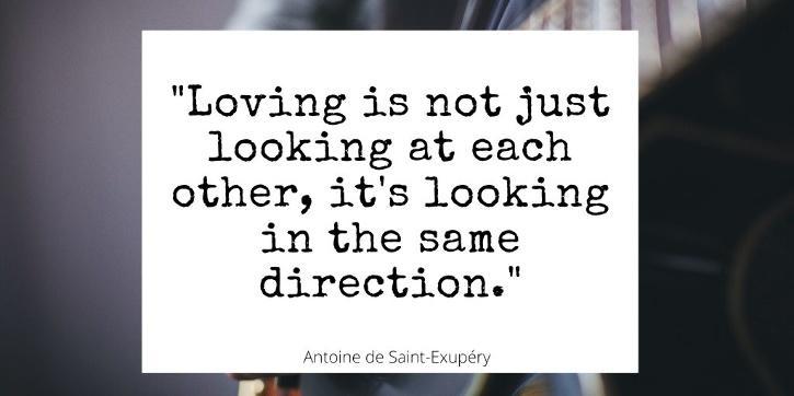 Love quotes for him by Antoine de Saint