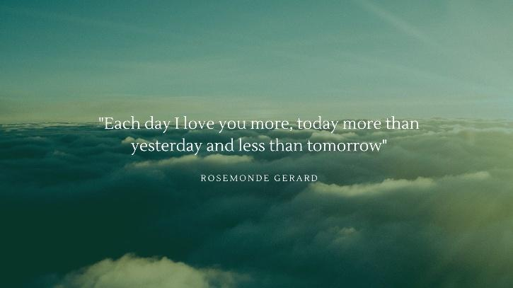 I love you by Rosemonde Gerard