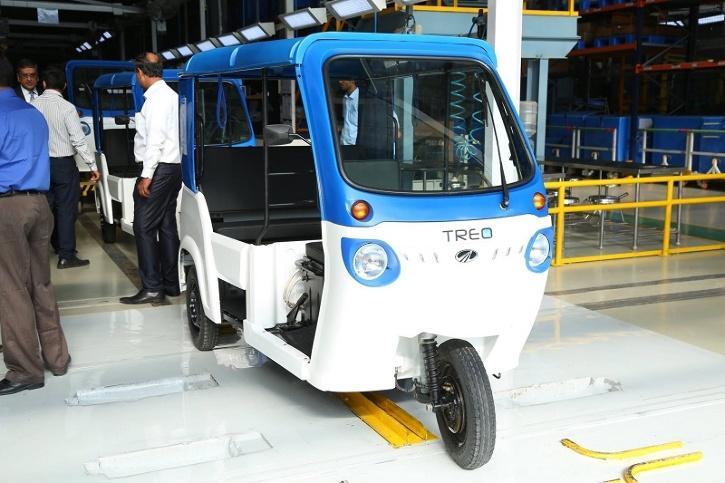 Mahindra Treo Electric (Image: Mahindra Electric)