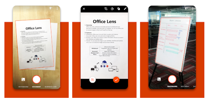 Microsoft Office Lens (Image: Google Play Store)