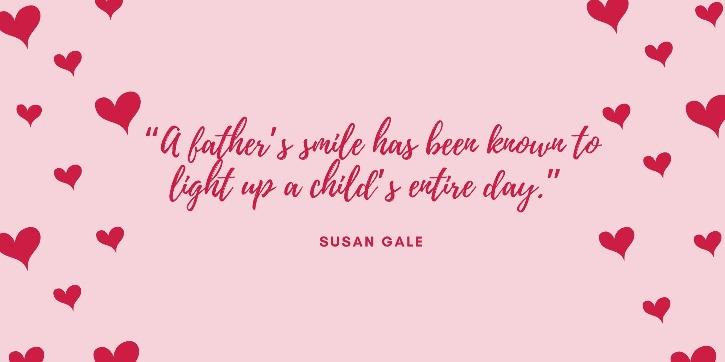 Father day quotes by Susan Gale