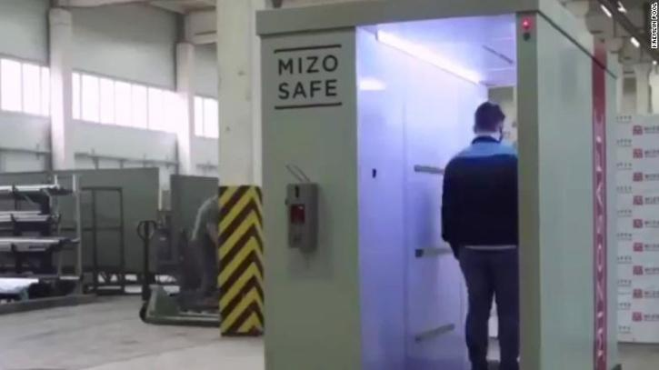Disinfectant Tunnel