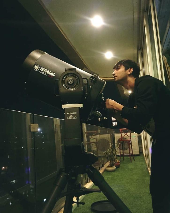 Sushant Singh Rajput telescope