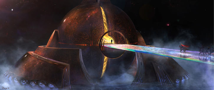 Thor wormhole Bifrost Bridge
