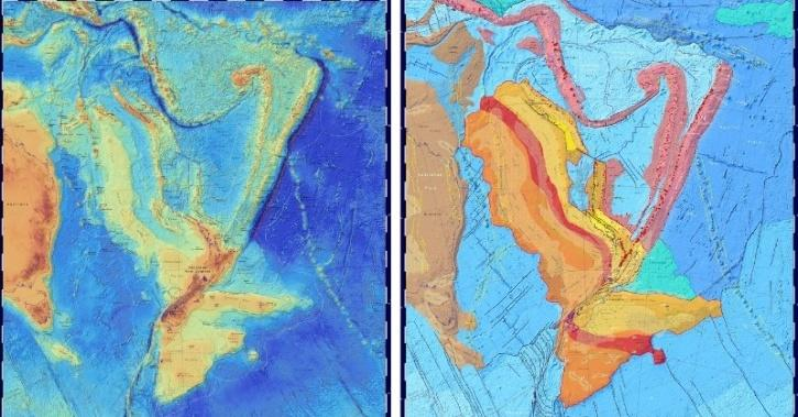 Earth Mapping, Eighth Continent, Zealandia, Underwater Continent, Geology, Geography, Technology News, Science News, Research