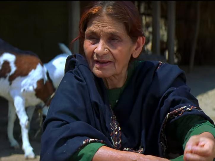Farrukh Jafar as Fatima Bi in Swades.