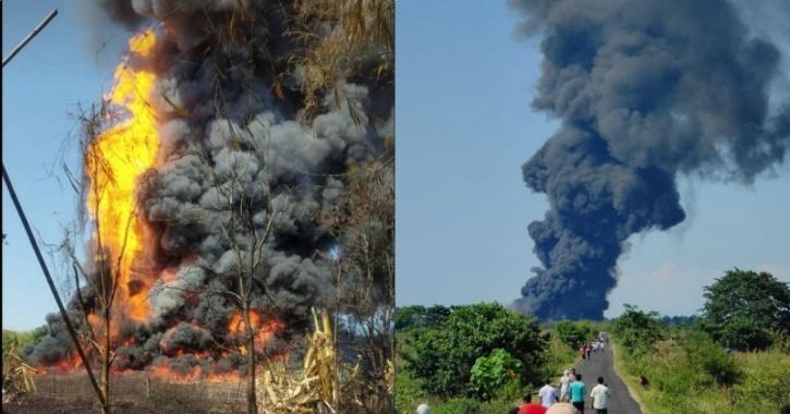 Assam fire