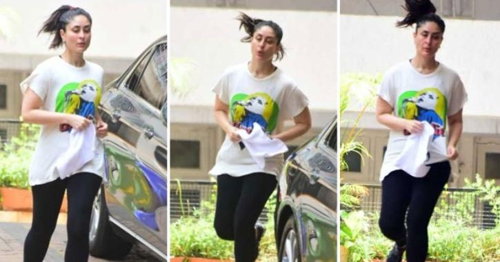 As Lockdown Eases, Kareena Kapoor & Neha Dhupia Step Out For Jogging Outside Their Buildings