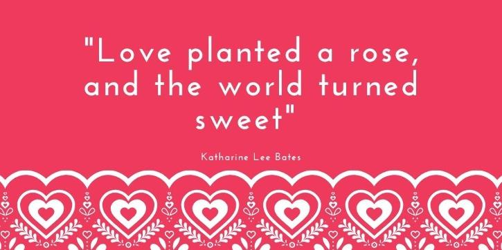 Love quotes for your boyfriend by Katharine Lee Bates