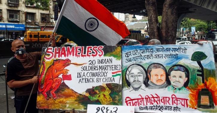 india china protests