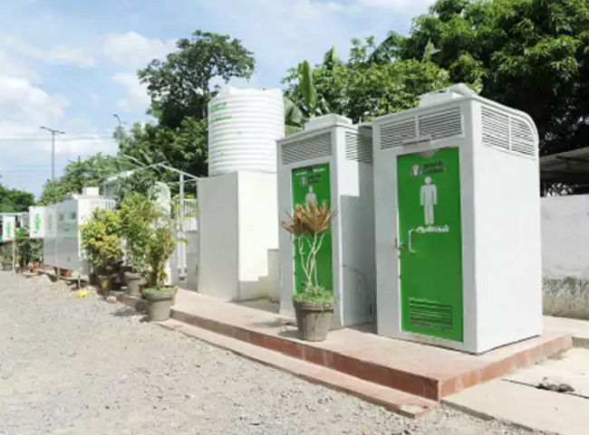 Odisha man quarantined inside swachh bharat toilet