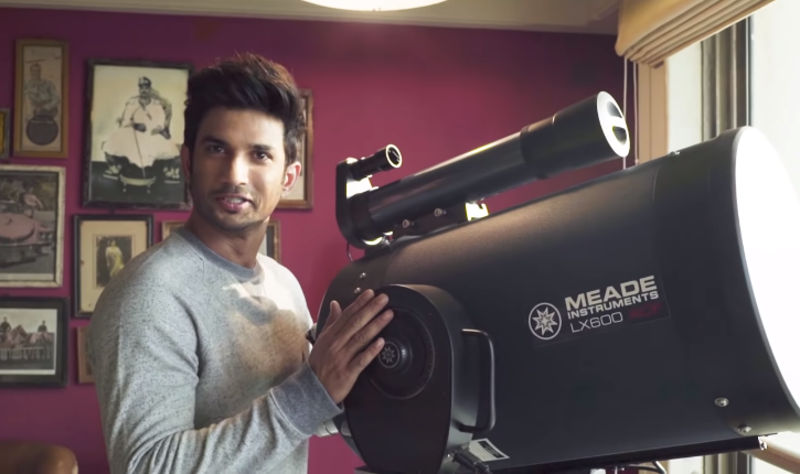 Did You Know, Sushant Singh Rajput Owned A Top-Line Telescope ...