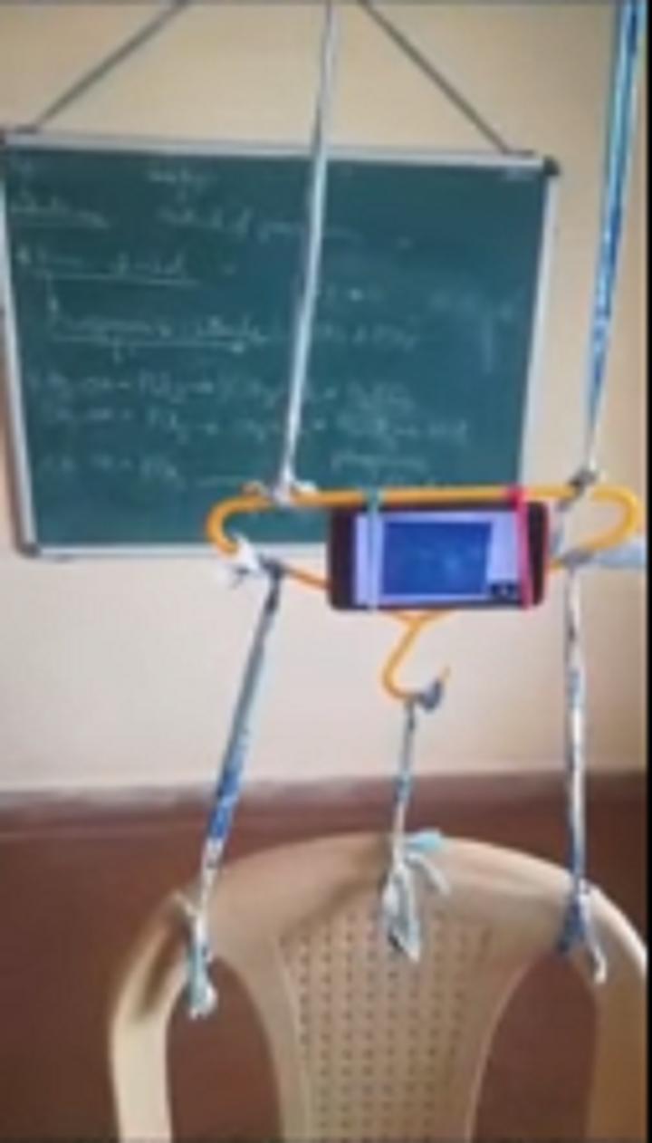 Chemistry teacher's jugaad