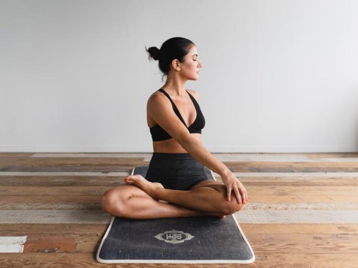 yoga for skin glow