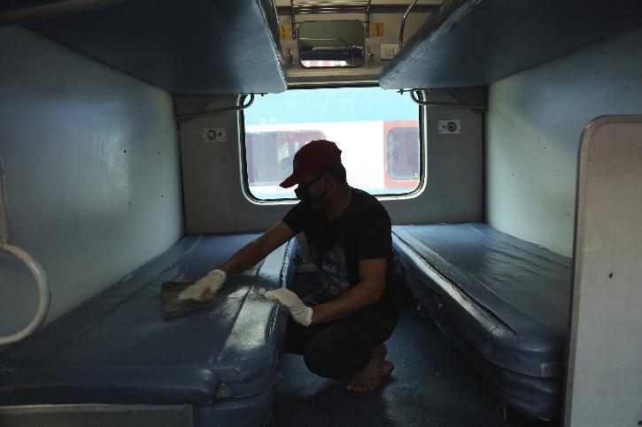 india railways covid bed