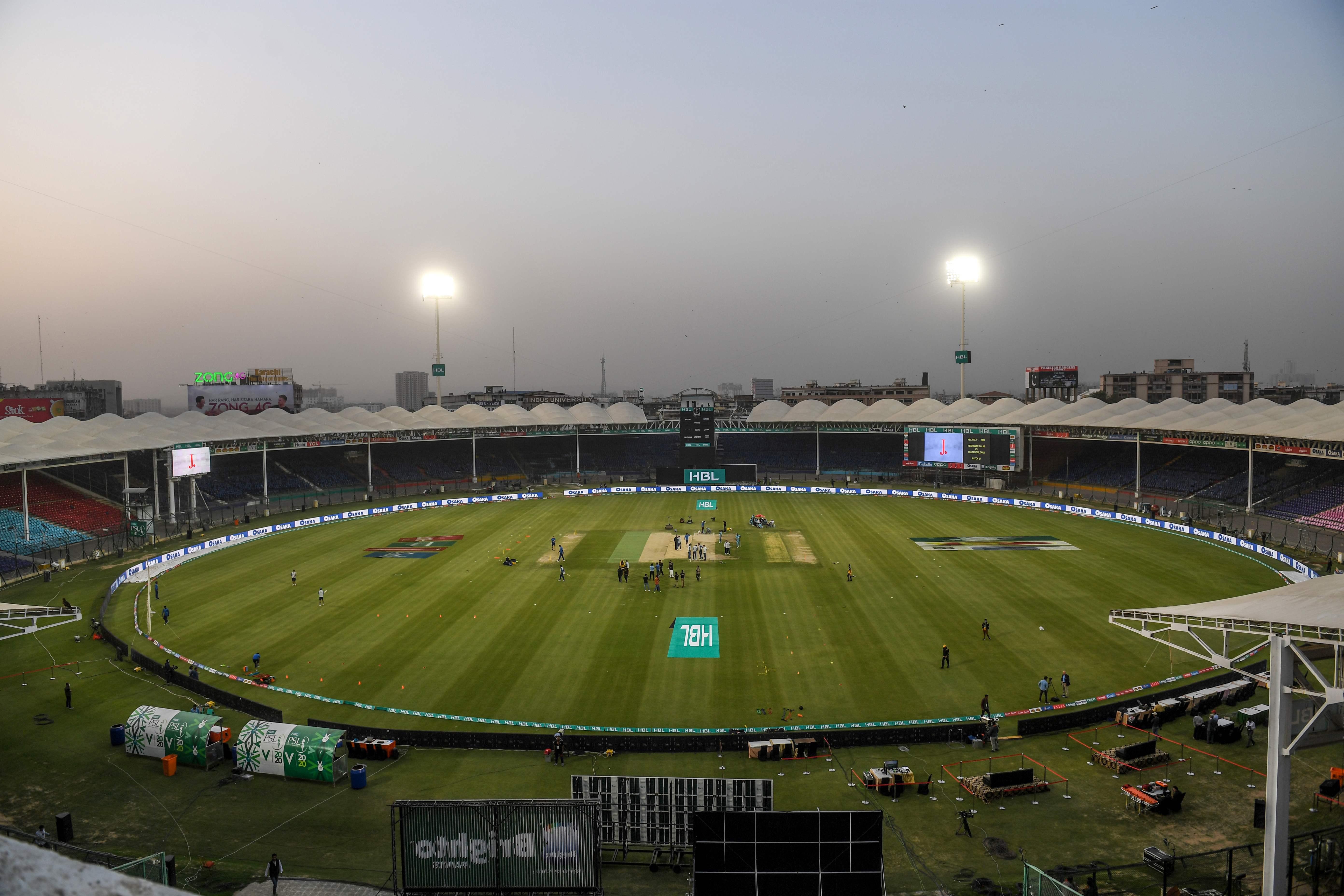 Pakistan National Cricket Stadium in Karachi