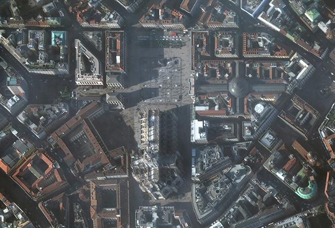 the Milan Duomo