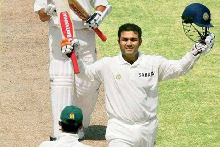 Today In 2004, Virender Sehwag Became India's First Test Triple ...