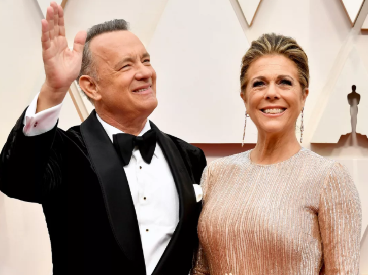 Tom Hanks And Wife Rita Wilson Become First Celebrity Victims Of Coronavirus In Australia