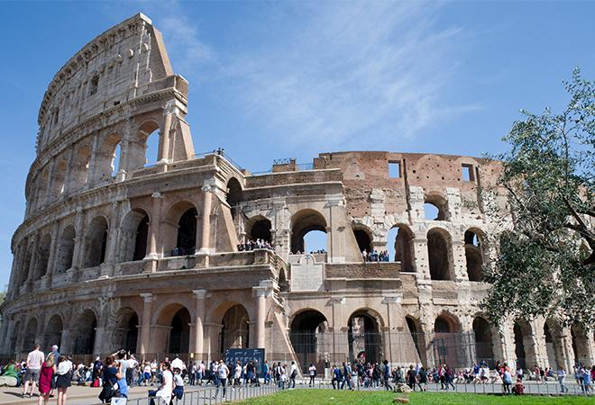 Rome Before and after images