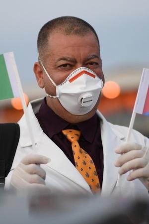 Cuban Doctors Head To Italy To Battle Coronavirus