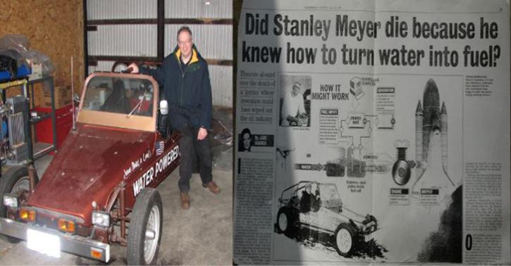 Stanley Meyer Mysterious Death