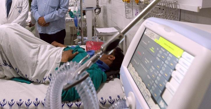 India COVID Bed Shortage