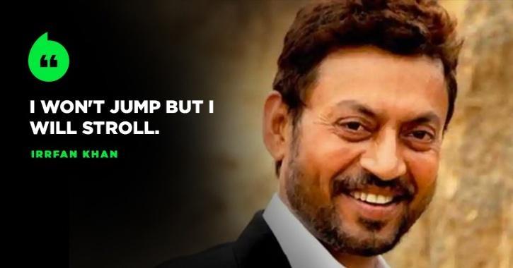 Irrfan Khan Says He Won