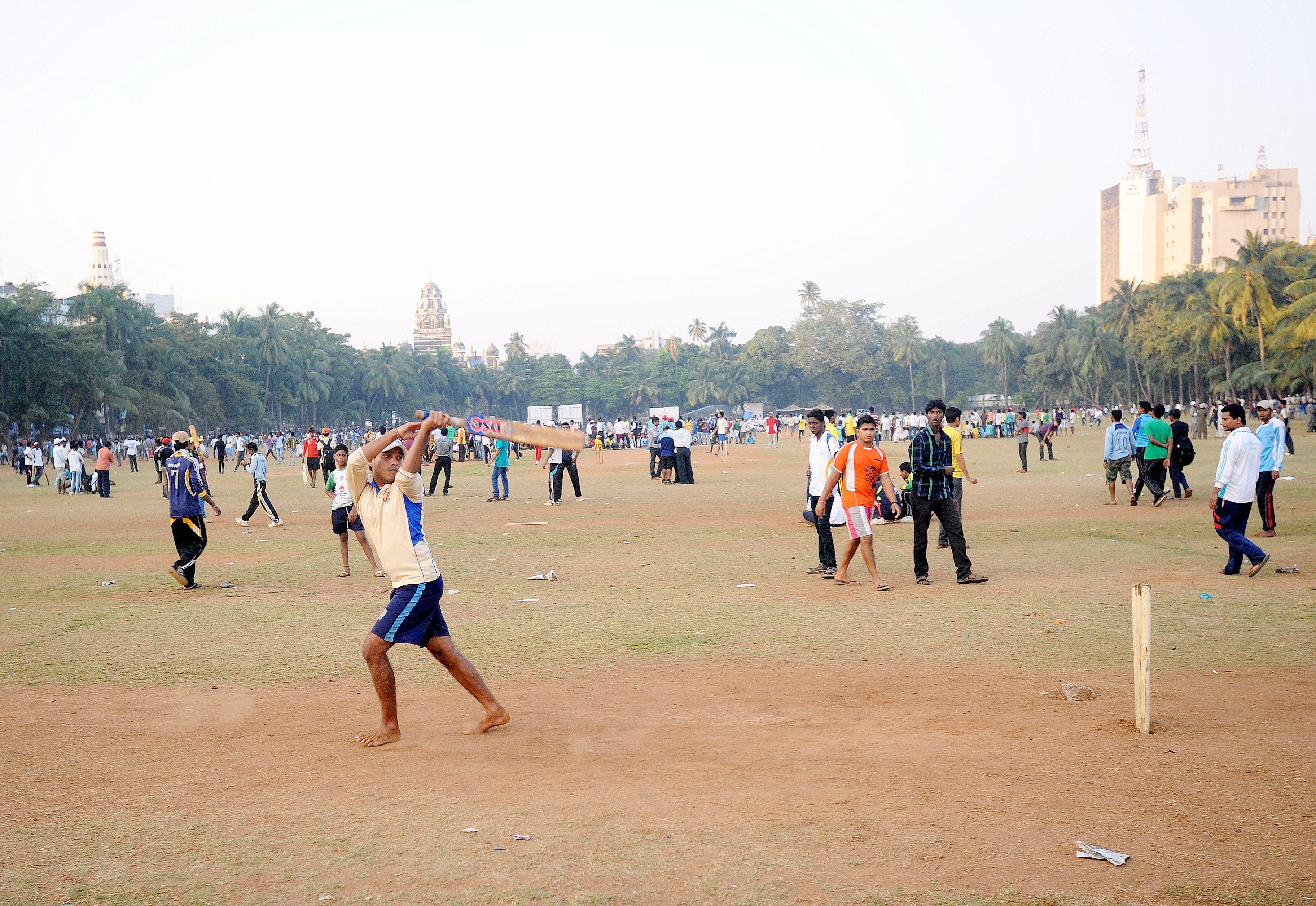 Oval Maidan Mumbai