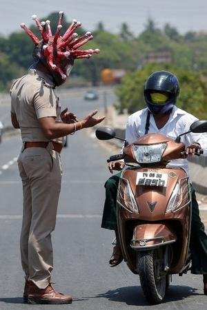 How Police In India Is Helping People Deal With The Lockdown