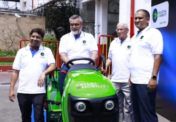 Cellestial E-Mobility, Electric Tractor
