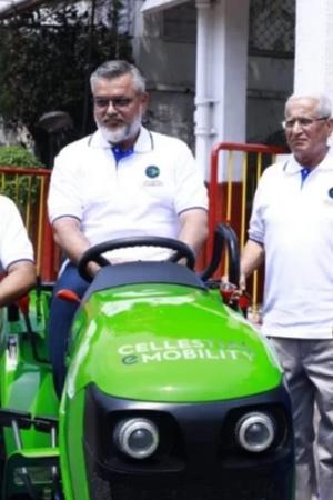 Cellestial E-Mobility Electric Tractor