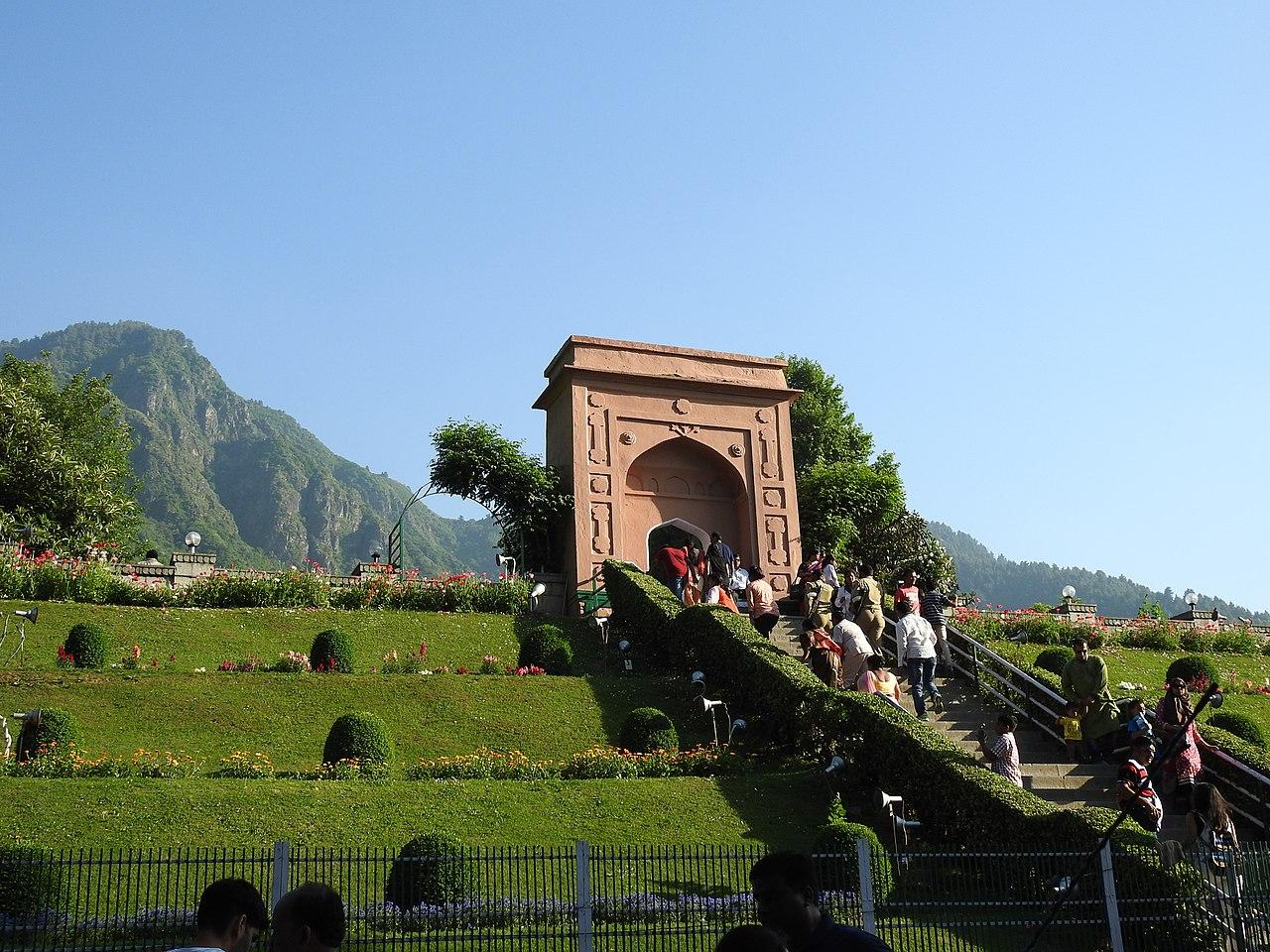 Chashme Shahi Garden Srinagar