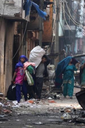 Delhi violence protests