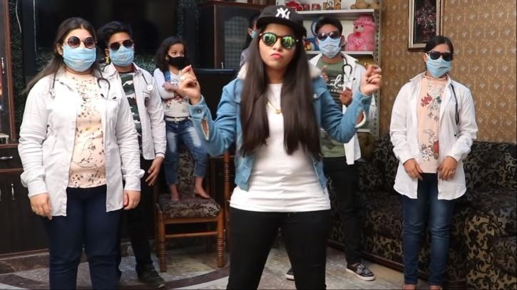 Dhinchak Pooja Is Back With A Song On Coronavirus & It