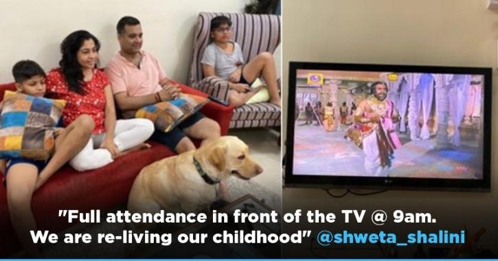 Fans Get Nostalgic Rewatching Ramayan, Doordarshan To Also Re-Telecast Circus & Byomkesh Bakshi